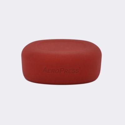 AEROPRESS GO siliconen deksel rood