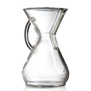 CHEMEX 6-cup Glasshandle