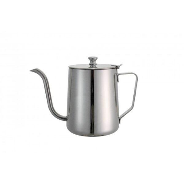 Opschenkkan met smalle uitloop (rvs, 1000ml) voor slowcoffee.