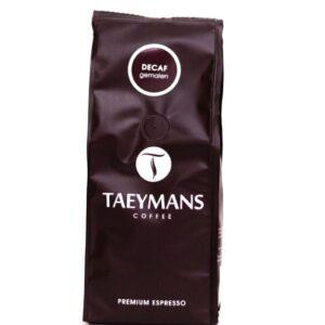 TAEYMANS ESPRESSO Decafeine gemalen 250 g