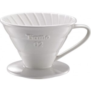 Tiamo Keramische filter wit 1 - 4 kops/V02 vorm