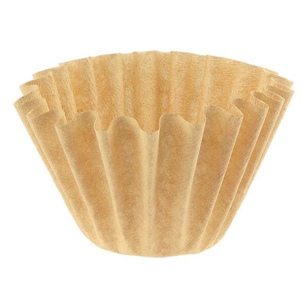 Tiamo papieren filters 1 - 4 kops ongebleekt K02 vorm (flatbed)