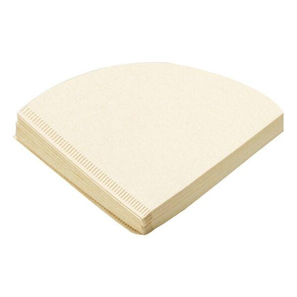 Tiamo papieren filters 1 - 4 kops ongebleekt V02 vorm
