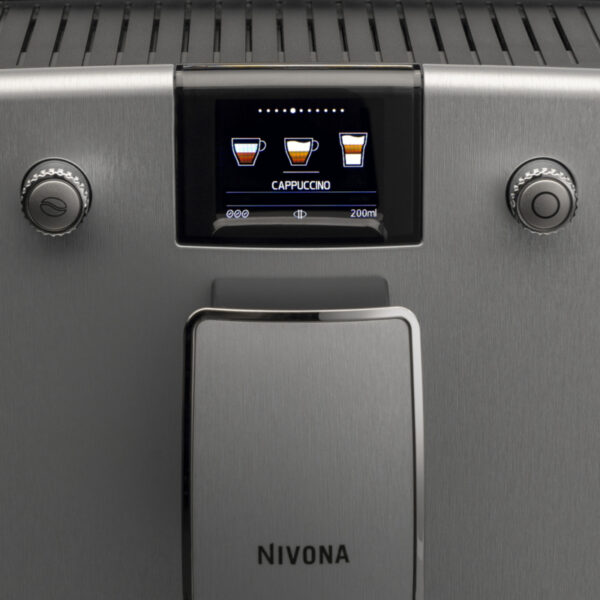 NIVONA CR769 Dimension Silver 3D, TFT display, Onetouch