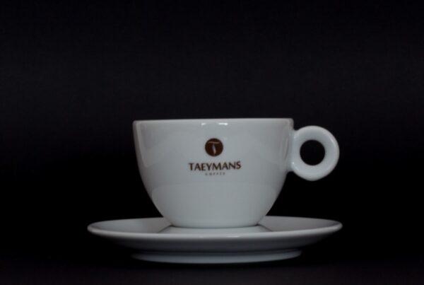 TAEYMANS Cappuccino tas & ondertas