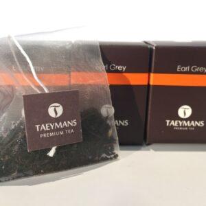 TAEYMANS PREMIUM TEA Earl Grey (48 doosjes - display)