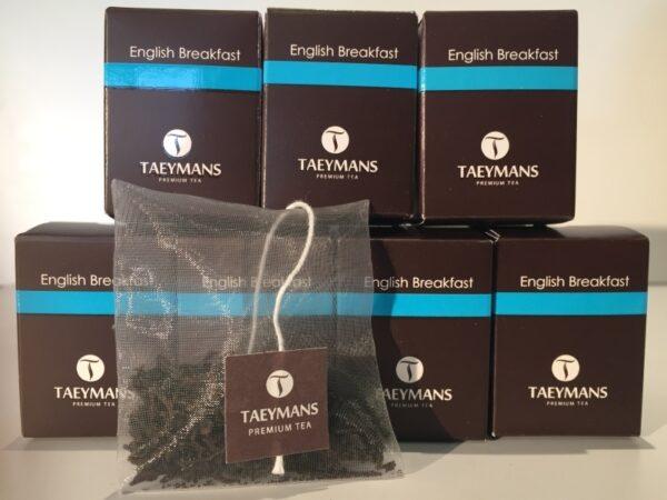 TAEYMANS PREMIUM TEA English Breakfast (48 doosjes - display)