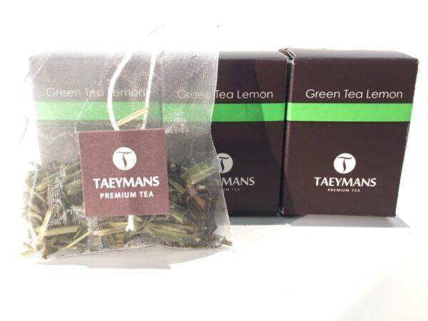 TAEYMANS PREMIUM TEA Green Tea Lemon (48 doosjes - display)