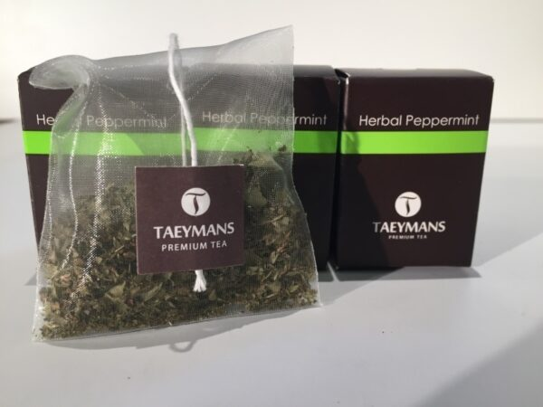 TAEYMANS PREMIUM TEA Herbal Peppermint (48 doosjes - display)