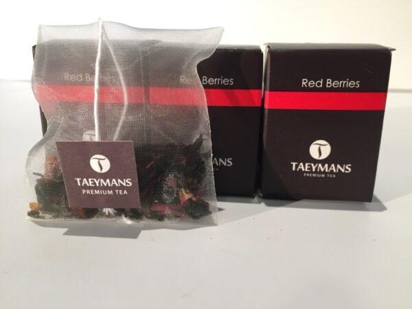 TAEYMANS PREMIUM TEA Red Berries (48 doosjes - display)