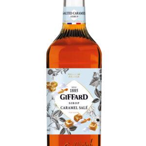 Giffard Caramel Zeezout siroop 1L